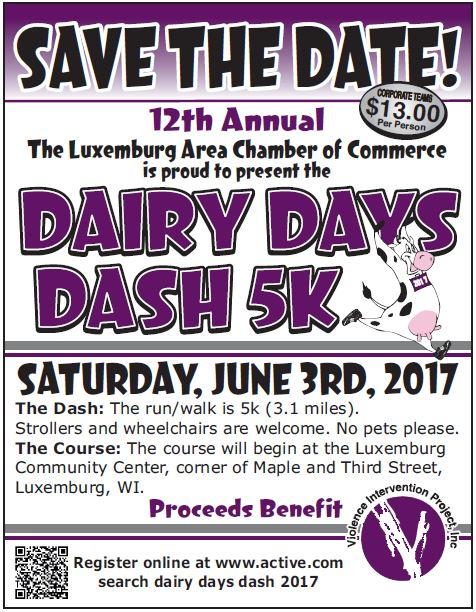 Dairy Days Dash 2017